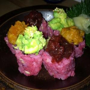 Pink Veggie Sushi